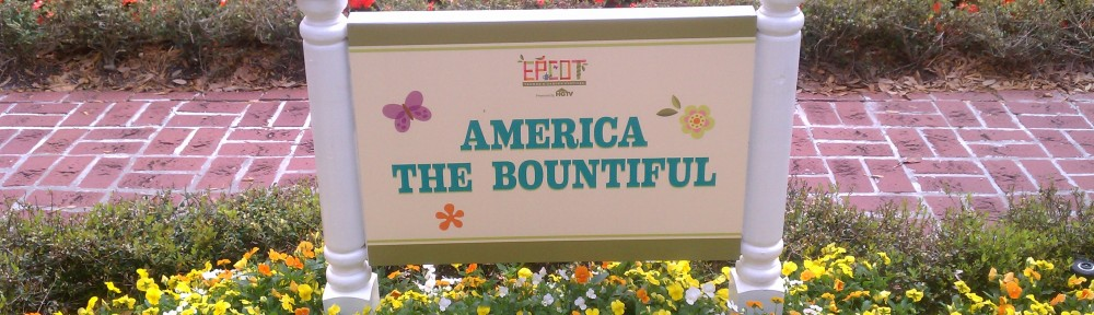 A Walk Through the America the Bountiful Garden in EPCOT