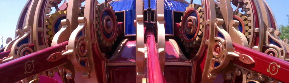 Rides with Friends – A Peek from Dumbo
