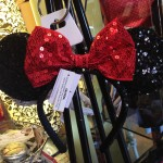Who wouldn't love a sparkly Minnie Ear headband???