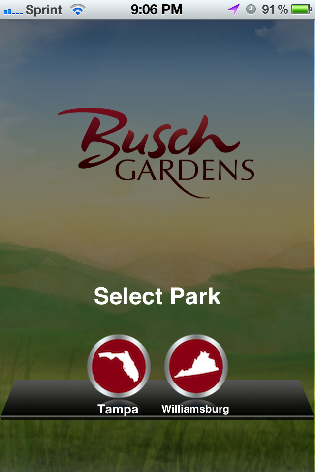 Sea world busch gardens app review on the go in mco with the busch gardens map above i just zoomed out to see the whole park for the sea world gumiabroncs Choice Image