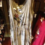 This Minnie dress is made of a very thin cotton, and would be great for a Florida summer night!