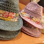 These colorful straw fedoras have some hidden surprises!