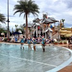 Gaylord Palms Singers in the pool
