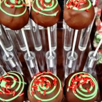Gingerbread Cake Pops at Gaylord Palms Christmas in July