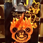 2012 Halloween Pin - Flaming Pumpkin