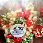 Yummy candied popcorn at Gaylord Palms Christmas in July