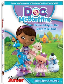 Doc McStuffins: Friendship Is The Best Medicine Available August 21, 2012 on DVD