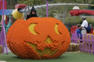 LEGOLAND Florida - LEGO Pumpkin for Brick-Or-Treat
