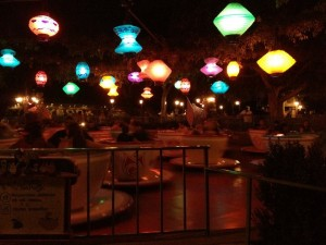 Tea Cups at night