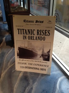 The Titanic Rises in Orlando!