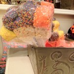 Halloween rice crispy treats