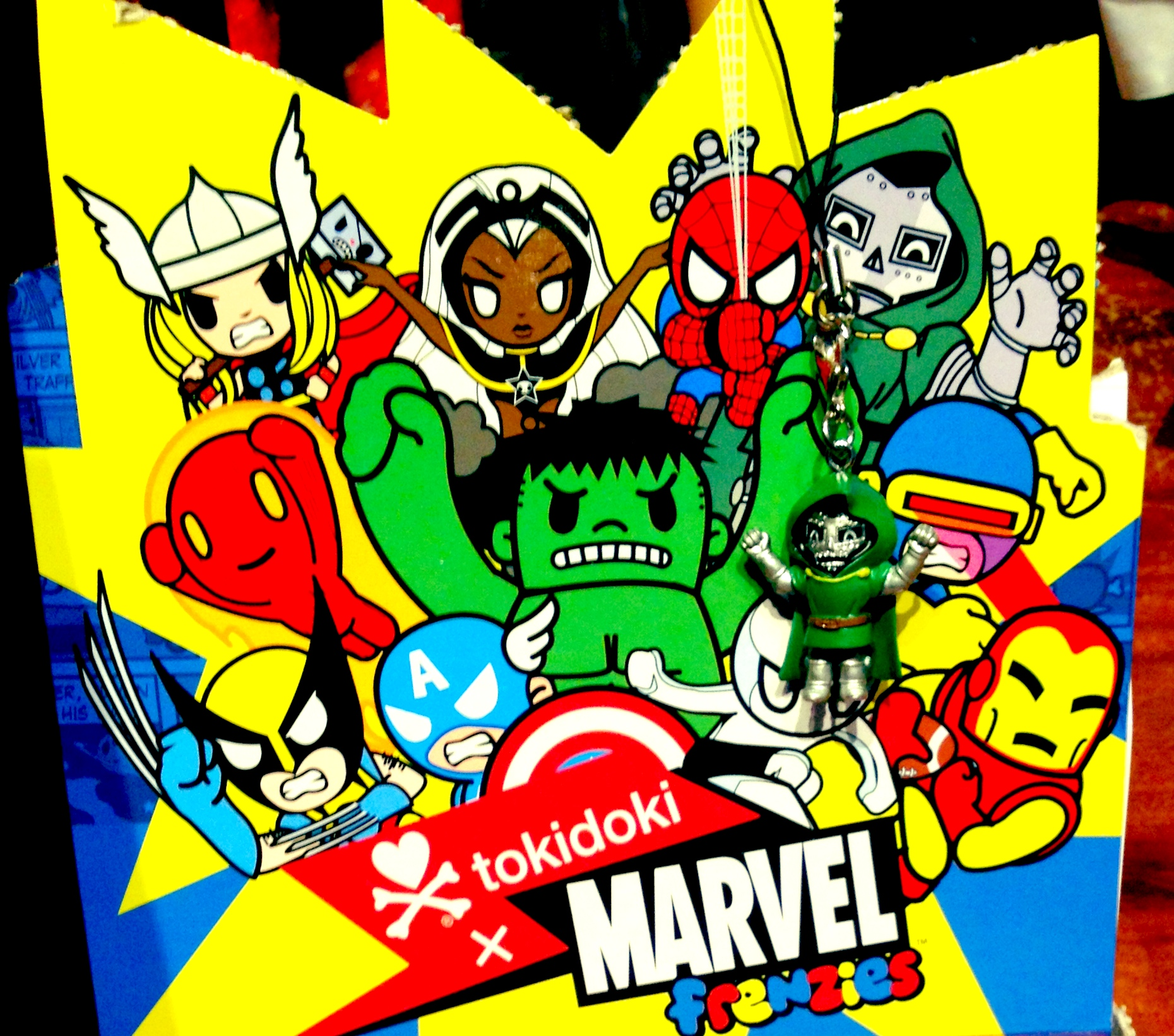 New Tokidoki Marvel Items Available At Downtown Disney