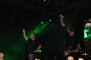 Kutless on the Galaxy Stage