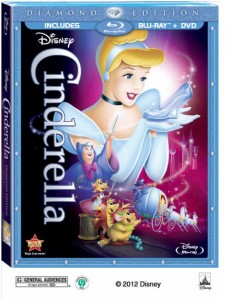 Cinderella Blu-ray™ Diamond Edition on October 2, 2012