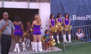 Orlando City Soccer dancers...and even some in-training!