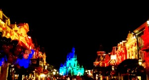 Right down the middle of Main Street USA