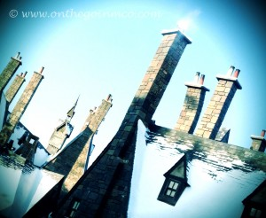 Wordless Wednesday - The Roofs of Hogsmeade