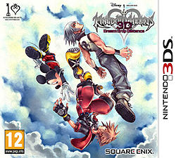 Kingdom Hearts Dream Drop Distance - Available for the Nintendo 3DS
