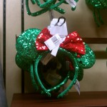 Disney always makes sure to have some Fun ears for the Holidays!