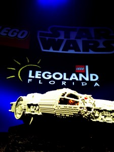 The Millennium Falcon that will be part of the Star Wars Miniland Cluster at LEGOLAND Florida is beyond amaizing!!!