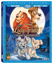 Lady and the Tramp II Available Now On Disney Blu-Ray