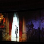 Abraham Lincoln on the brink of Civil War in the Hall of Presidents