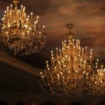 Be Our Guest chandelier light fixtures