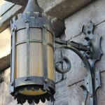 Be Our Guest light fixture