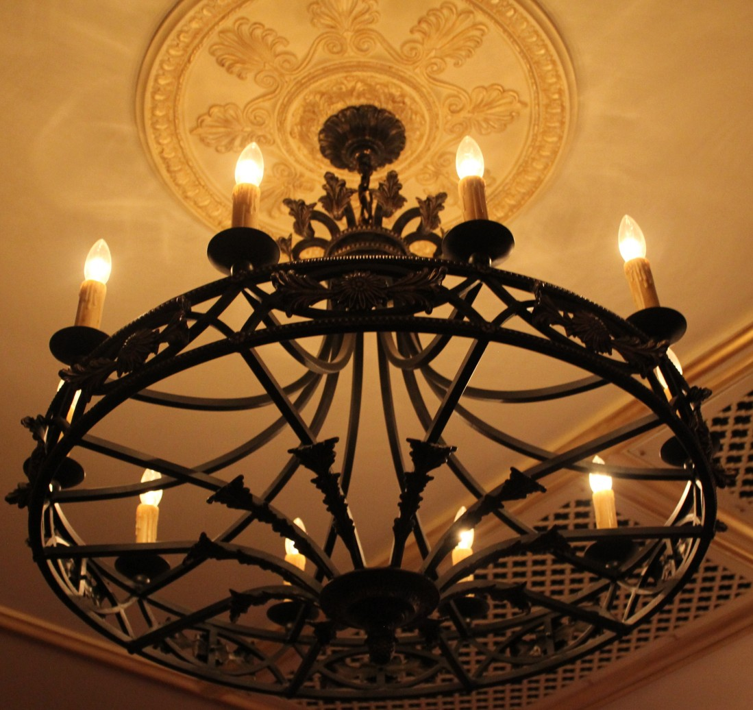 Iron Light Fixtures Light Decorating Ideas