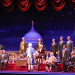 George Washington speaks in the Hall of Presidents
