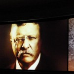 Teddy Roosevelt in the Hall of Presidents
