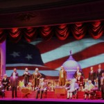 The Presidents in the Hall of Presidents