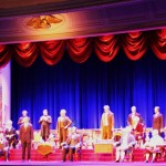 The Presidents of the United States of America in the Hall of Presidents