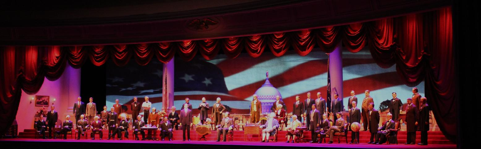 Patriotism in the Parks – Hall of Presidents