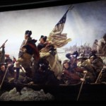 Washington Crossing the Delaware in the Hall of Presidents