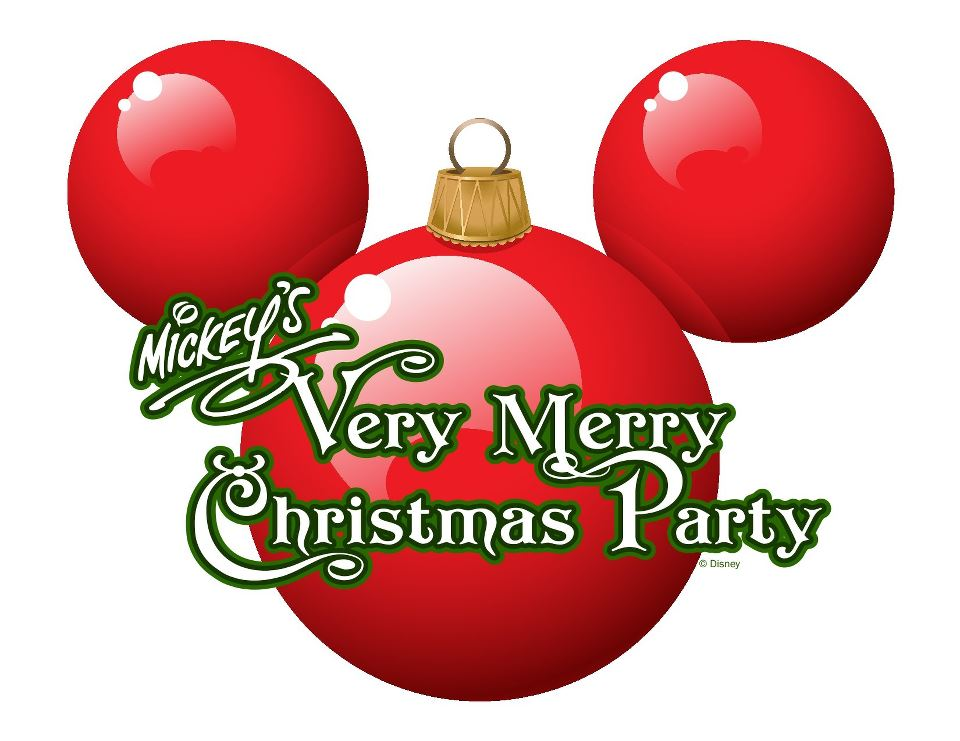 Mickey S Very Merry Christmas Party Logo On The Go In Mco