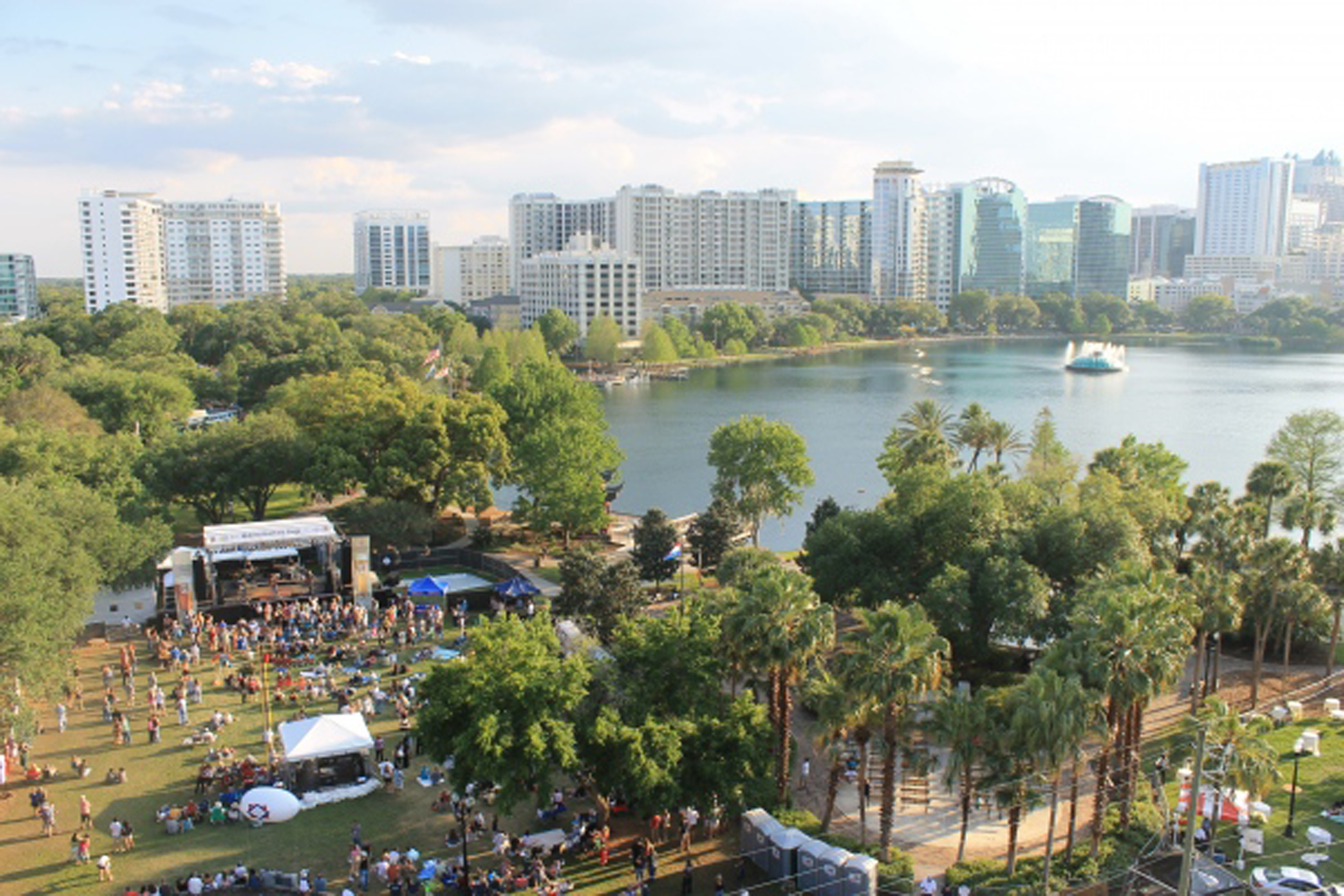 Downtown Food & Wine Fest at Lake Eola Set for February 21 and 22, 2015 Downntown Food and Wine Fest