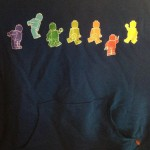 My new hooded LEGOLAND Florida sweatshirt