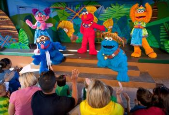 Safari of Fun Tea Party - Show Busch Gardens Tampa Sesame Street Safari of Fun