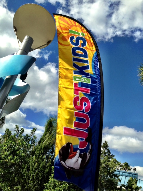 SeaWorld Orlando Just For Kids - sail