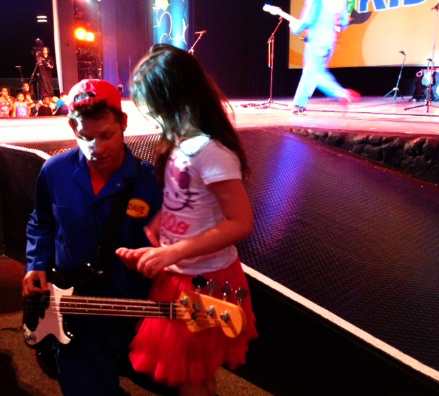 SeaWorld Just For Kids - IM Playing Bass