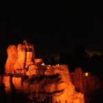 Big Thunder at night