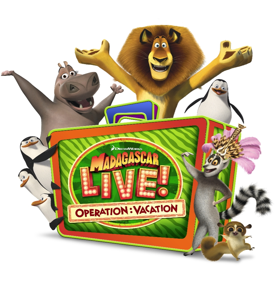 Madagascar Live! Operation: Vacation coming to Busch Gardens Tampa