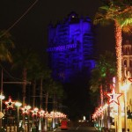Tower of Terror at night