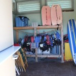 Beach equipment rental