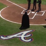 Darth Vader overseeing the umpires