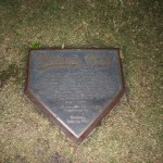 Dodgers dedication plaque