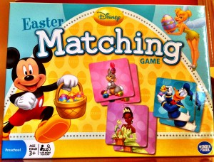 Disney Easter Matching Game