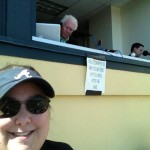 Me with Hall of Famer Don Sutton in the background