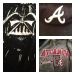 Ready to represent Star Wars and the Braves